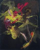 Acryl, Ölkreide, Pastellkreide auf Leinwand | 100 x 80 cm