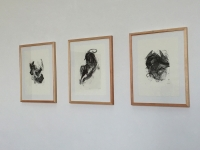 2015 | Lithografien Ausstellungsansicht